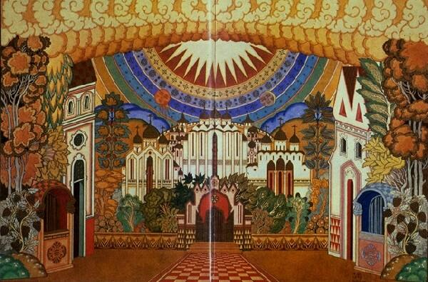 Декорации к опере (И.Я. Билибин)