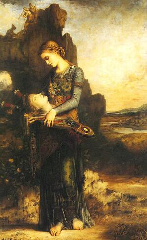 Гюстав Моро. Смерть Орфея