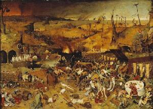 Питер Брейгель Старший, Триумф смерти. Музей Прадо, Мадрид