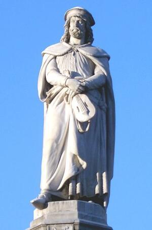 Памятник Вальтеру фон дер Фогельвейде в Больцано