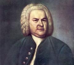 И.-С. Бах, 1746 г. (Elias Gottlob Haußmann)