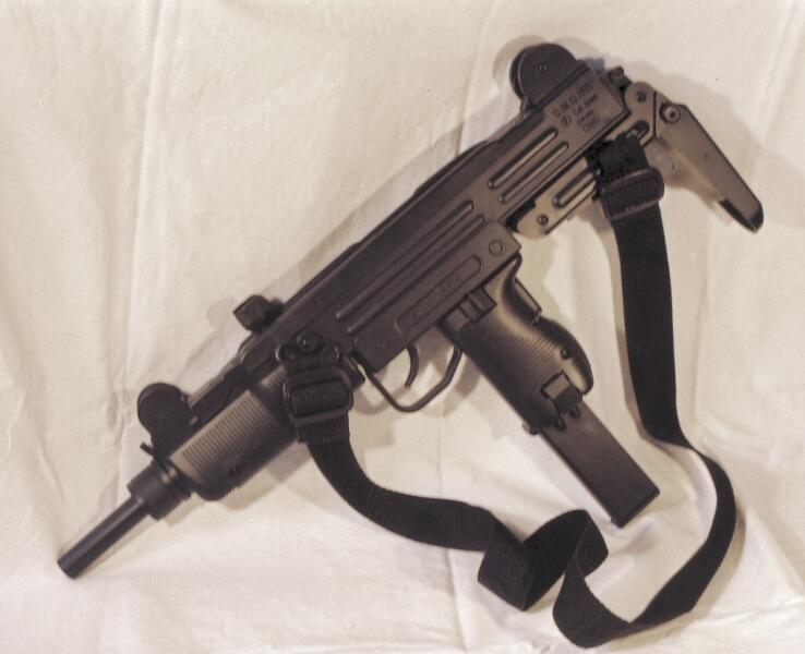 Пистолет-пулемёт «Узи» (Uzi).