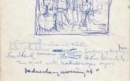 В мае 2011г.на аукционе за 237 тыс. долларов была продана рукопись песни «Lucy In The Sky With Diamonds»
