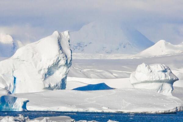 Арктический пейзаж как место обитания персонажей статьи