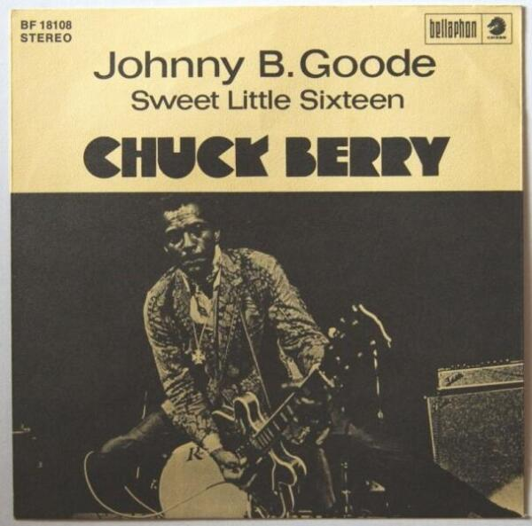 Обложка сингла «Johnny B. Good»