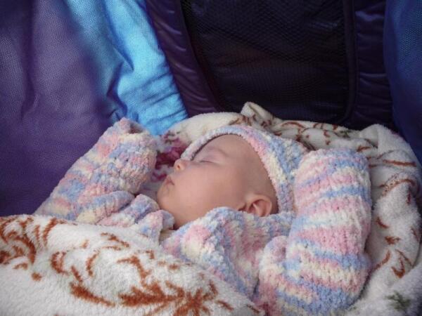 Сон карапузины по чуткости и продолжительности сравним со сном Исаева-Штирлица