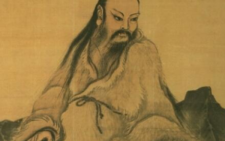 Легендарный император Фу-си, черепаха и ба гуа