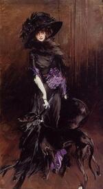 Луиза Казатти, светская львица, была неравнодушна к Поэту