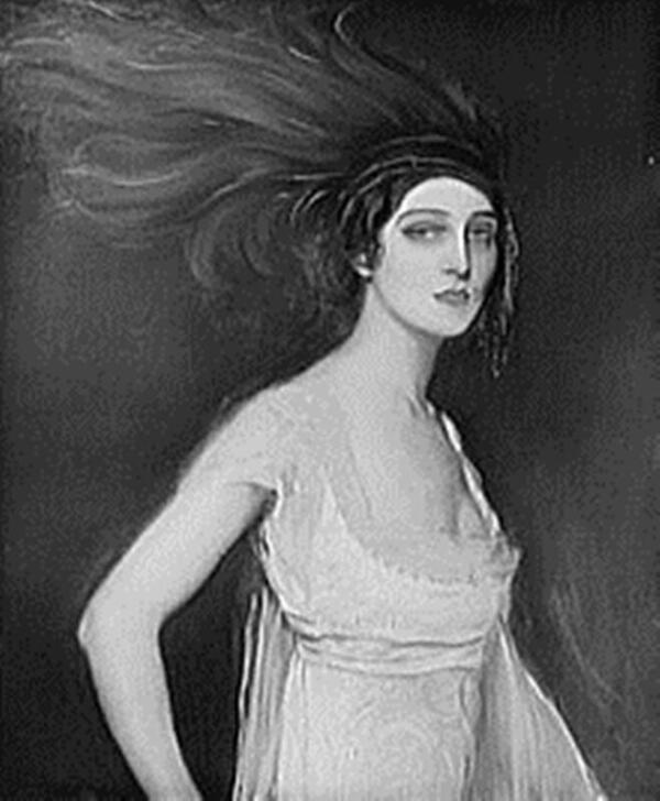 Ида Рубинштейн, российская балерина, танцевала для Поэта