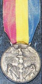 Медаль для участников «Марша на Ронки»