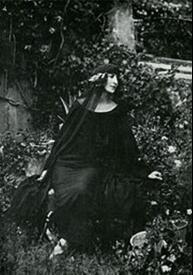 Луиза Баккара, тоже муза Поэта