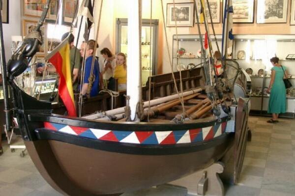 «Дедушка» Российского флота в Военно-морском музее Петербурга
