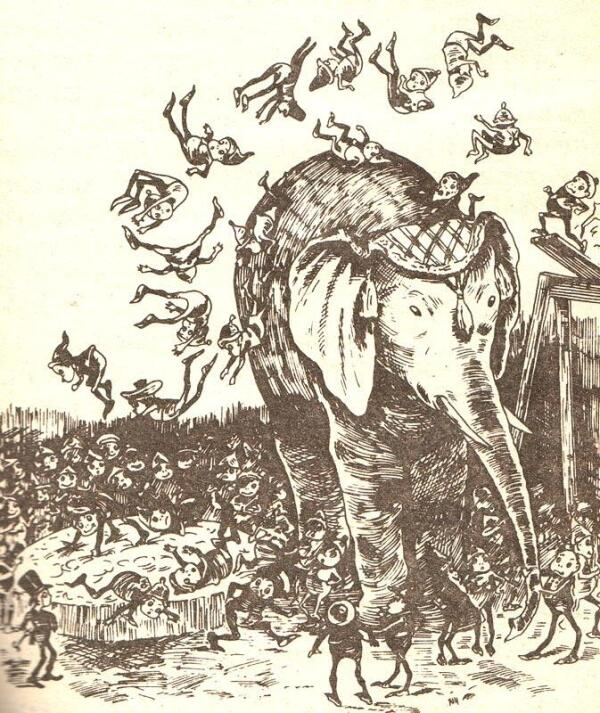 В сказках Хвольсон малютки активно путешествовали по миру - будь-то тундра, Индия или Китай