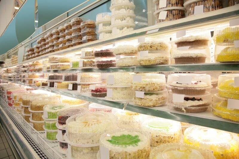 Какие торты в магазине вкусные