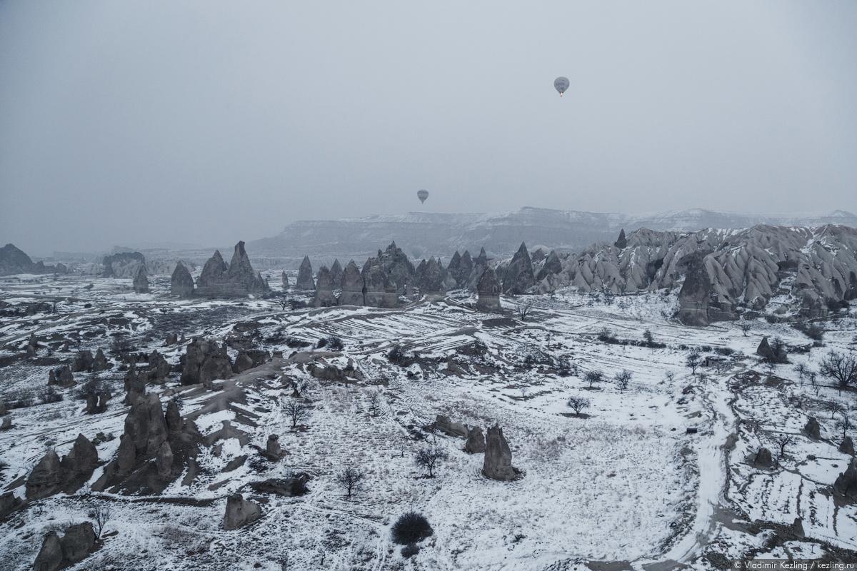 Каппадокия. Где лучше всего совершить полёт на воздушном шаре?