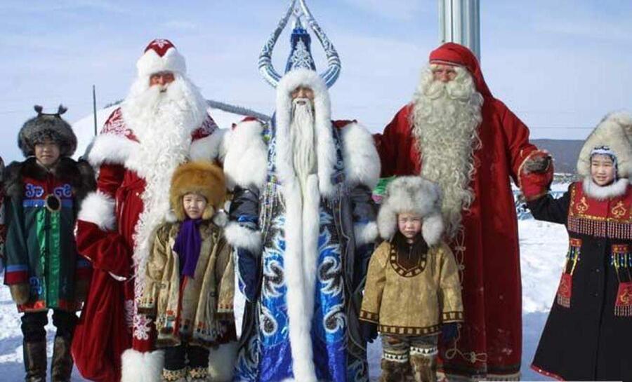 Кто поздравит с Новым годом в других странах?