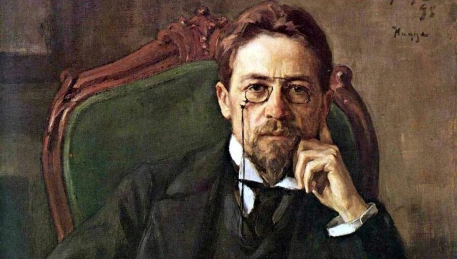 Фото: портрет Антона Чехова, художник Осип Браз