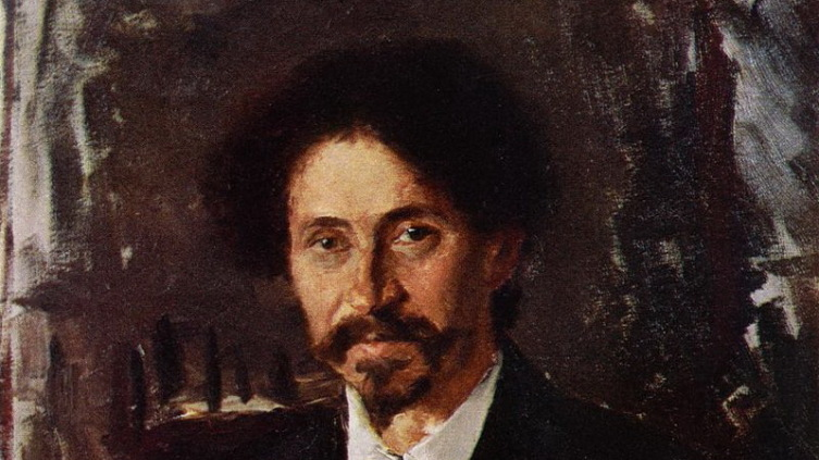 В. Серов, «Портрет художника И. Е. Репина». Wikipedia